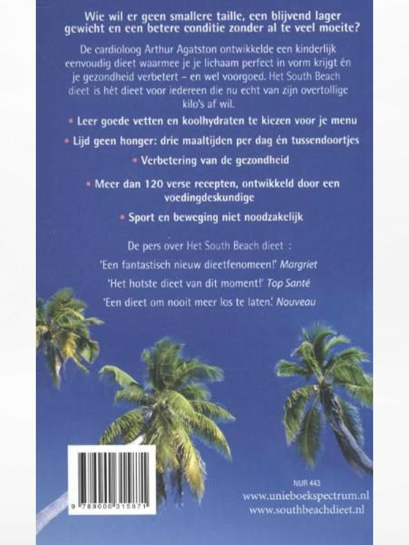south beach dieet boek
