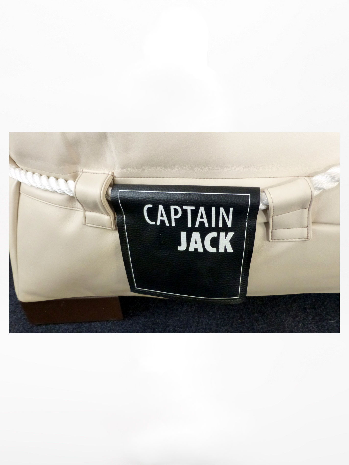 Captain Jack Lounge Stoel.Captain Jack Lounge Set Arpatec Beige White Verkoop En Inkoop