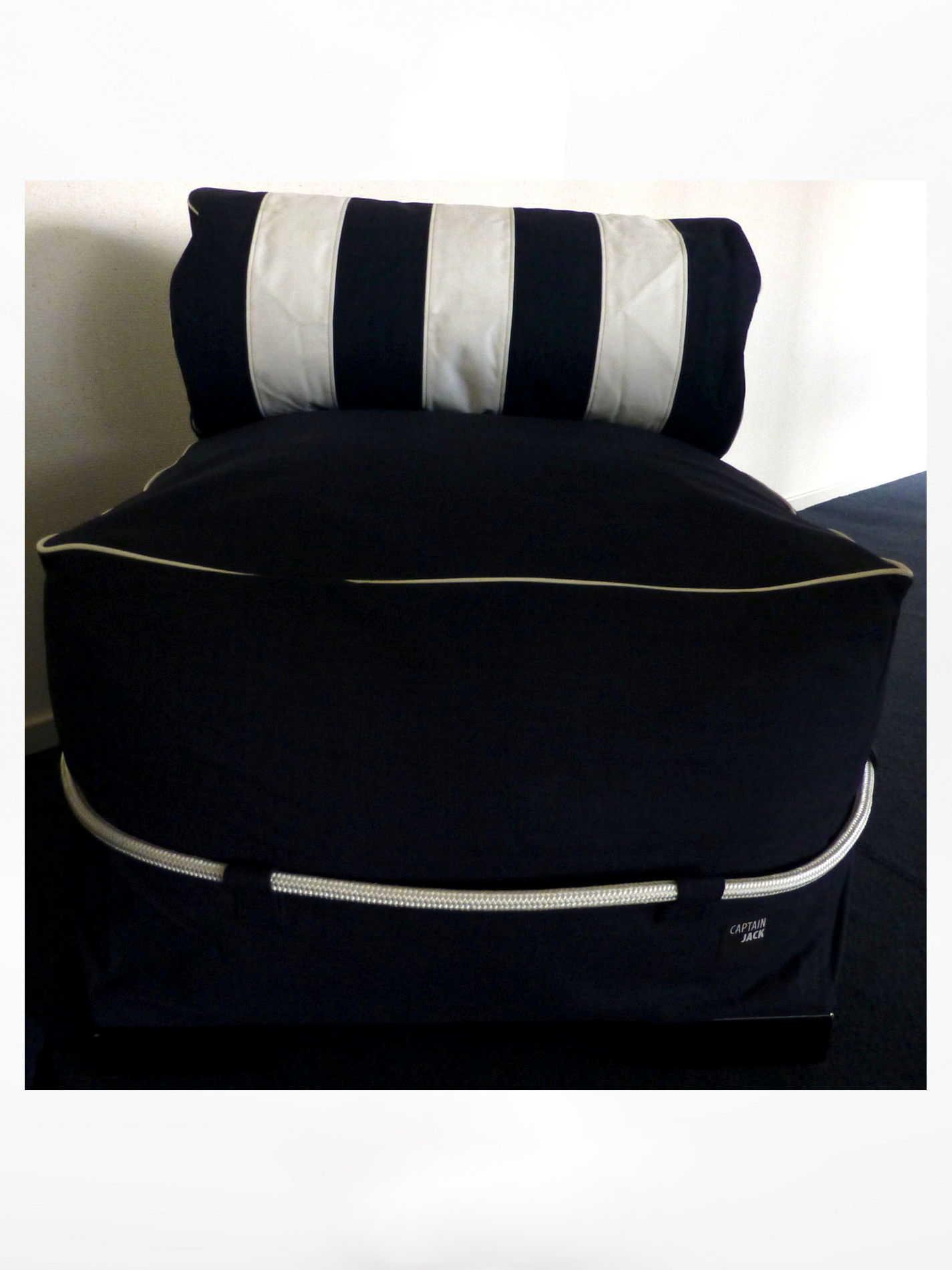 Captain Jack Lounge Stoel.Captain Jack Lounge Set Allure Blue White
