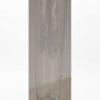 Hoge glazen vaas 70 cm